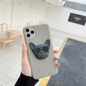 Coming soon Hot 3D French bulldog iphone case